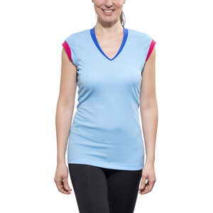 GORE RUNNING WEAR SUNLIGHT 4.0 Shirt Damen ice blue/jazzy pink ice blue/jazzy pink