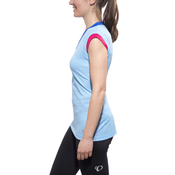GORE RUNNING WEAR SUNLIGHT 4.0 Shirt Dam ice blue/jazzy pink