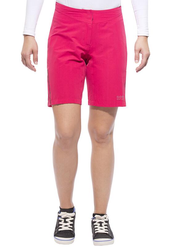 GORE BIKE WEAR ELEMENT Sykkelbukse Dame Rosa 38 2016 Sykkelshorts / Baggy shorts