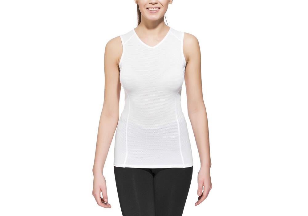 gore bike wear base layer t shirt sans manche femme blanc boutique de v los en ligne. Black Bedroom Furniture Sets. Home Design Ideas