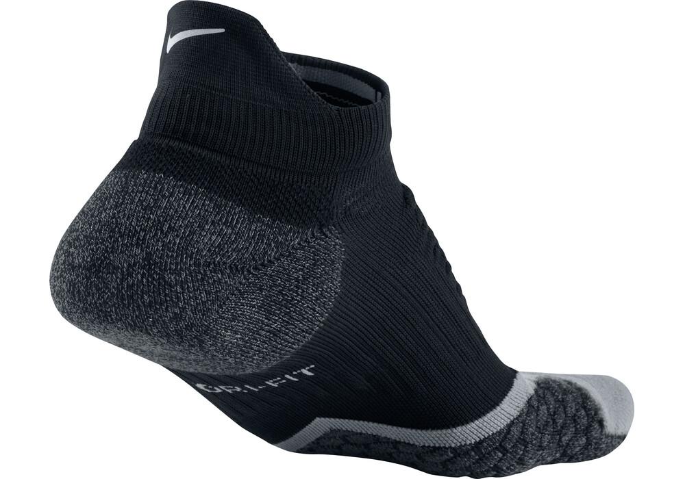 nike elite running cushion socks no show tab black g nstig kaufen. Black Bedroom Furniture Sets. Home Design Ideas