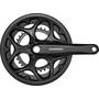 Shimano Tourney FC-A070 Kurbelgarnitur 7/8-fach Kettenschutzring schwarz