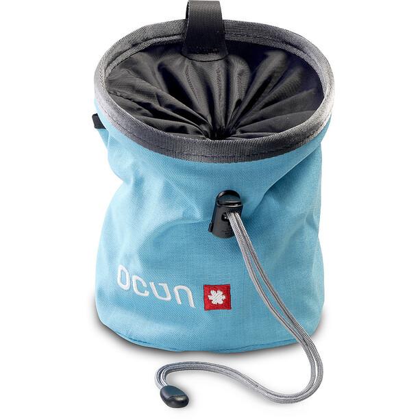 Ocun Push + Belt Chalk Bag blue