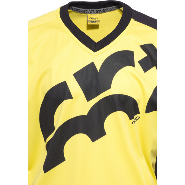 Mavic CrossMax Kurzarm Trikot Herren yellow mavic/black