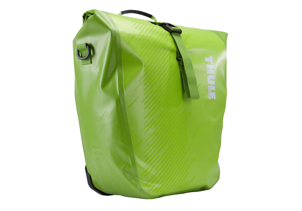 thule pack 39 n pedal shield fahrradtasche large chartreuse g nstig kaufen bei. Black Bedroom Furniture Sets. Home Design Ideas