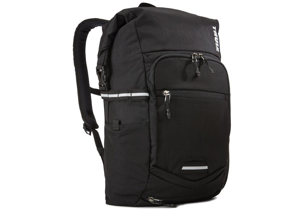 thule pack 39 n pedal commuter rucksack schwarz. Black Bedroom Furniture Sets. Home Design Ideas