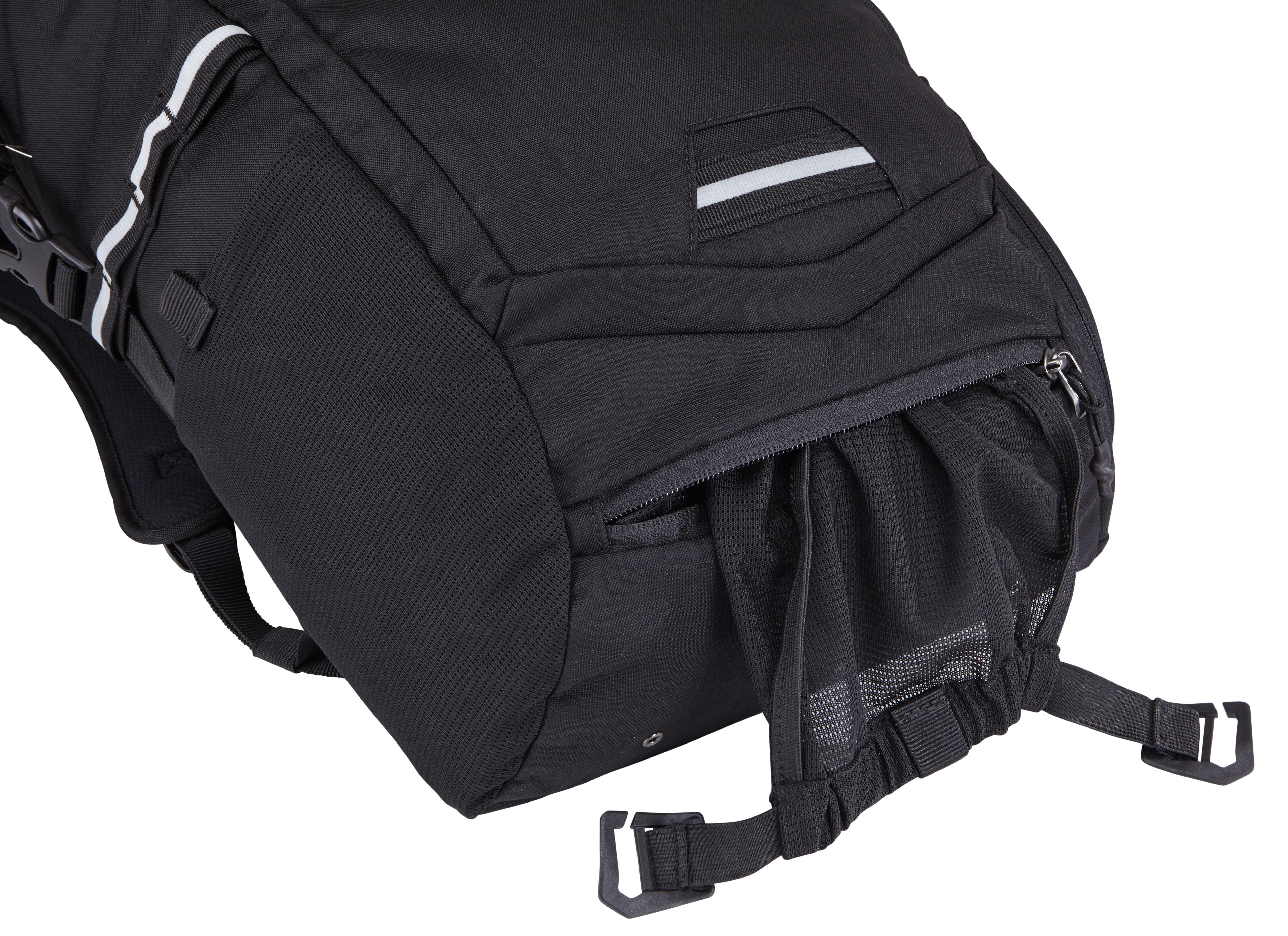 24 Litre Thule Pack/'N Pedal Commuter Bicycle Cycle Bike Backpack Black