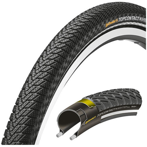Continental Top CONTACT Winter II Premium Reifen 26 Zoll faltbar reflex