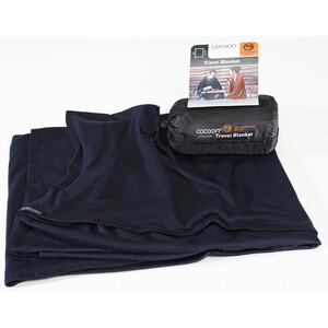 Cocoon Travel Blanket Merino Wool/Silk graphite blue graphite blue