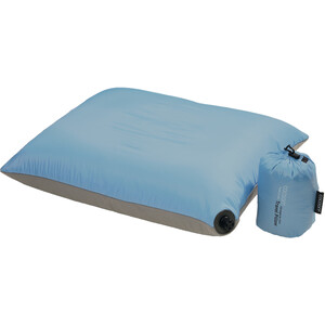 Cocoon Air Core Kissen Ultralight Mid light blue/grey light blue/grey