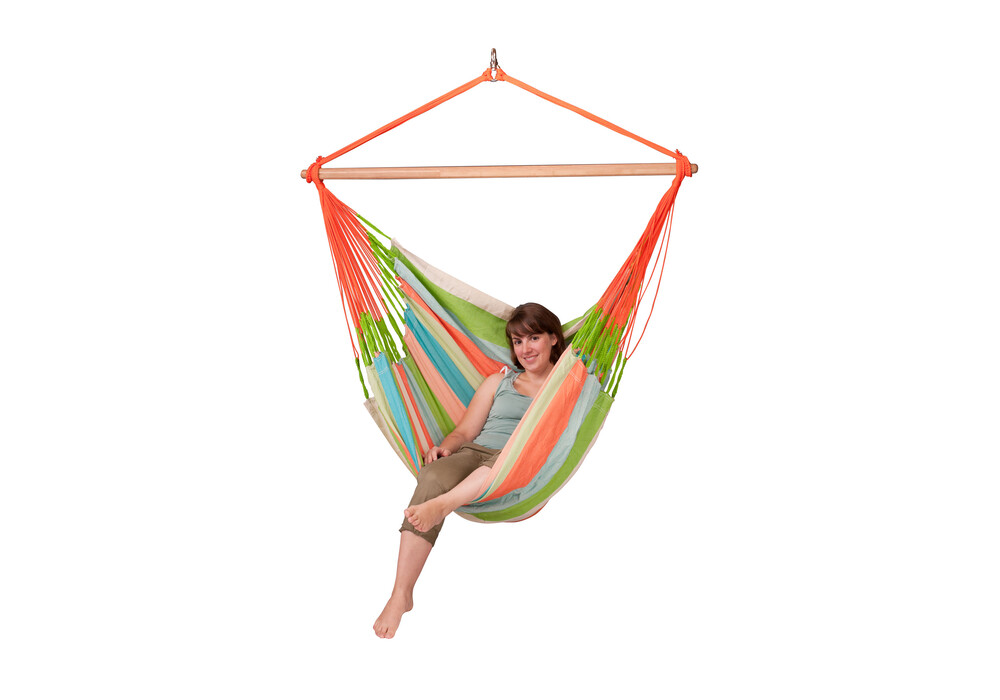la siesta domingo h ngestuhl lounger coral. Black Bedroom Furniture Sets. Home Design Ideas