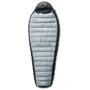Yeti Fusion 500 Schlafsack XL, Zip L silver grey, black/black