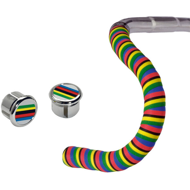 Cinelli Champion Ribbon Handlebar Tape regenbogen