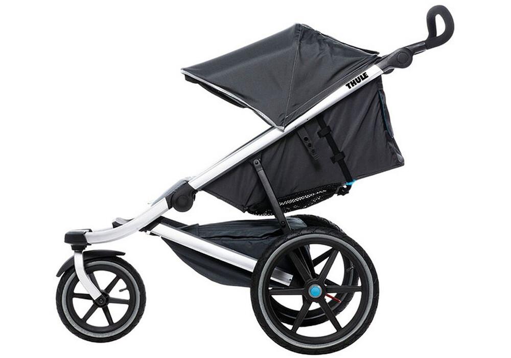 thule urban glide kinderwagen 1 sitzer grijs i voordelig. Black Bedroom Furniture Sets. Home Design Ideas