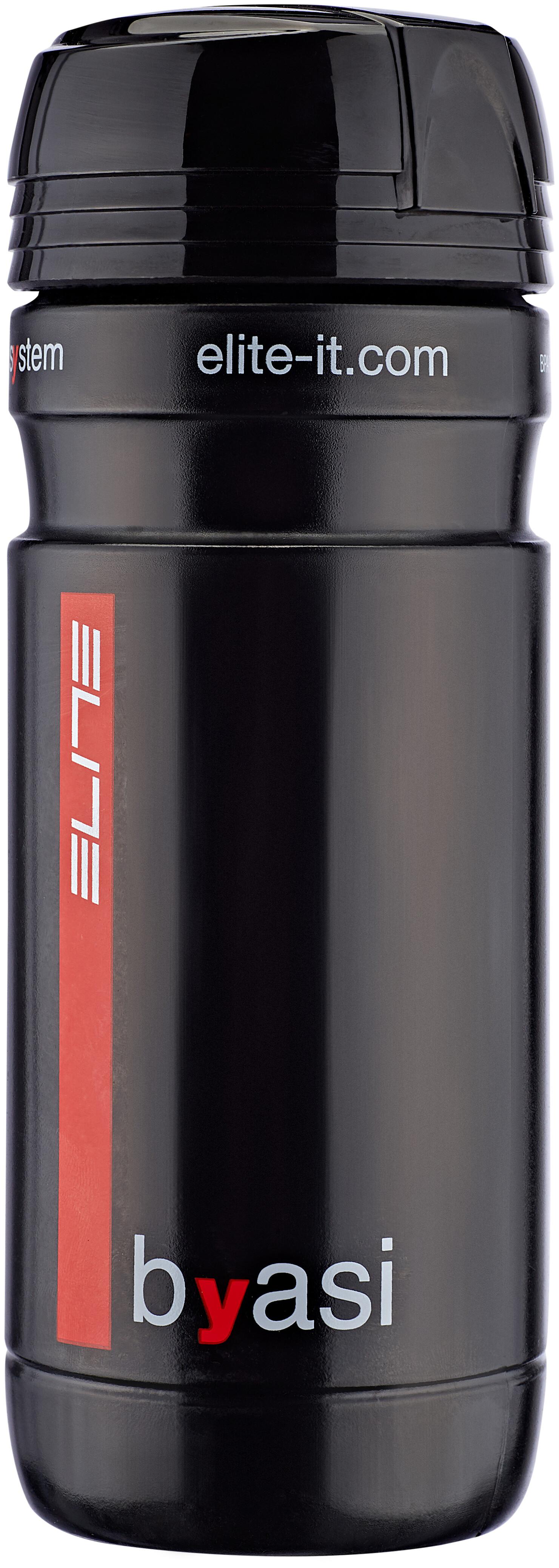 Elite Byasi storage bottle white black