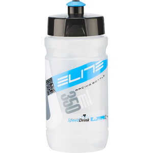 Elite Corsetta Drinking Bottle 350ml transparent/blue transparent/blue