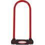 Masterlock 8195 U-Lock 13x280x110mm, rouge/noir