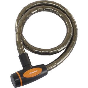Masterlock 8228 PanzR Kabelschloss 18 mm x 1.000 mm dunkelgrau dunkelgrau