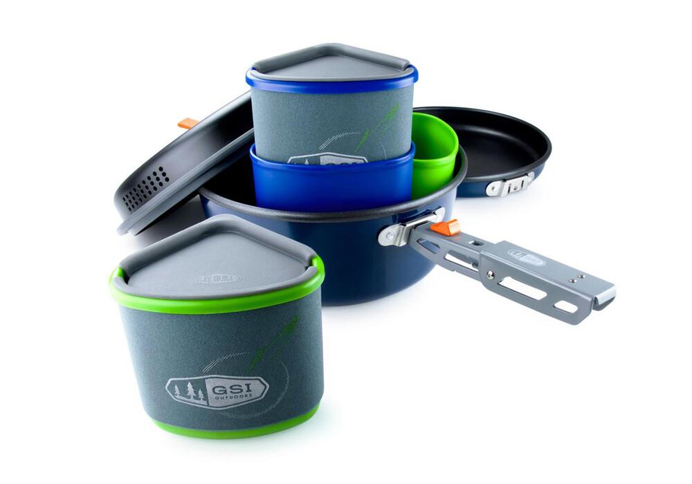 Gsi bugaboo backpacker equipamiento para cocinas de camping azul negro - Cocinas de camping ...