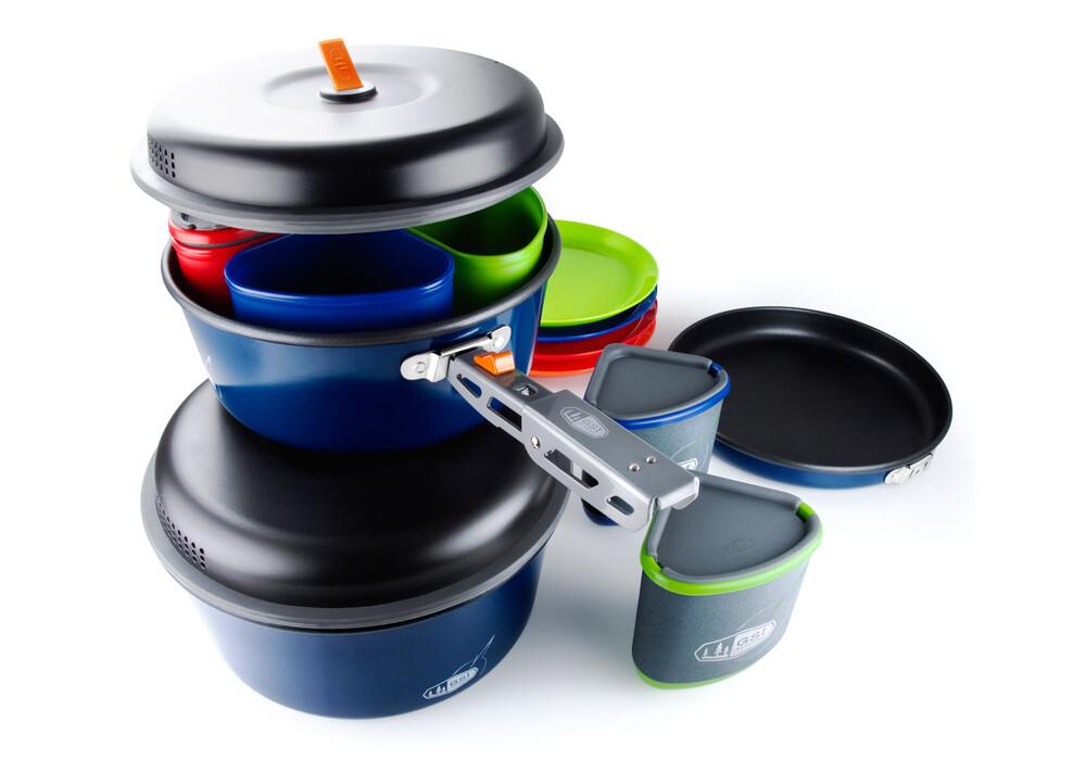 Gsi bugaboo camper equipamiento para cocinas de camping gris azul - Cocinas de camping ...