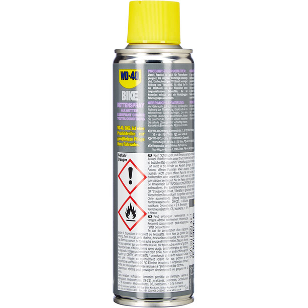 WD-40 Chain Spray All-Weather 250ml