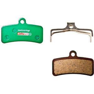 SwissStop Disc 27 Organic Bremsbeläge Shimano Saint/Zee/TRP Quadiem SL grün grün