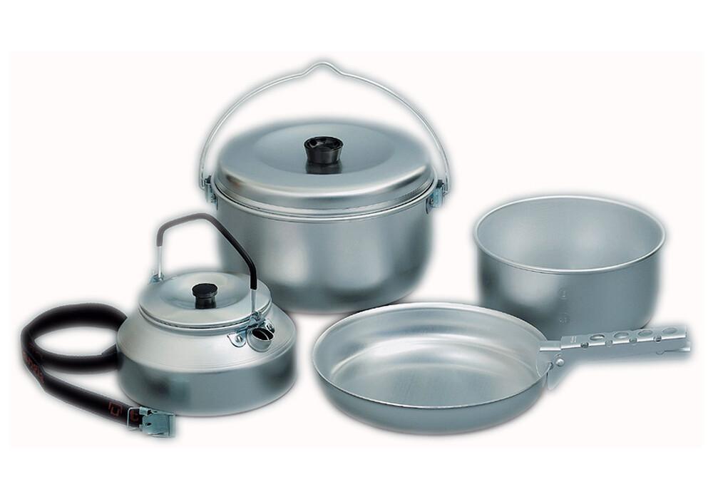 Trangia campingset 24 equipamiento para cocinas de camping aluminio gris - Cocinas de camping ...