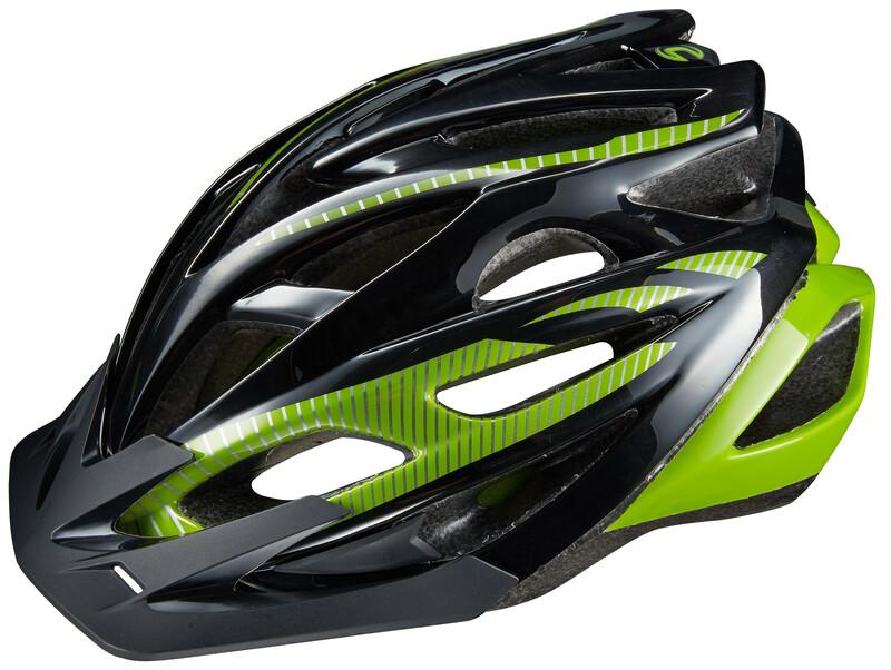 Radius Helm black/green 58-62cm 2018 MTB Helme