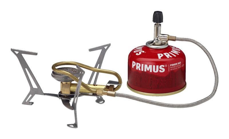 Primus Express Spider II Gasskjøkken gull/sølv  2018 Stormkjøkken