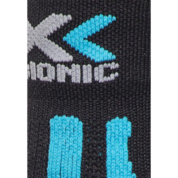 X-Bionic Effektor Laufsocken Damen black/turquoise