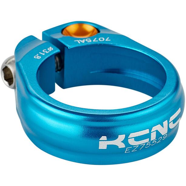 KCNC Road Pro Sattelklemme Ø31,8mm blau