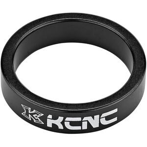 """KCNC Headset Spacer 1 1/8"""" 8mm schwarz schwarz"""