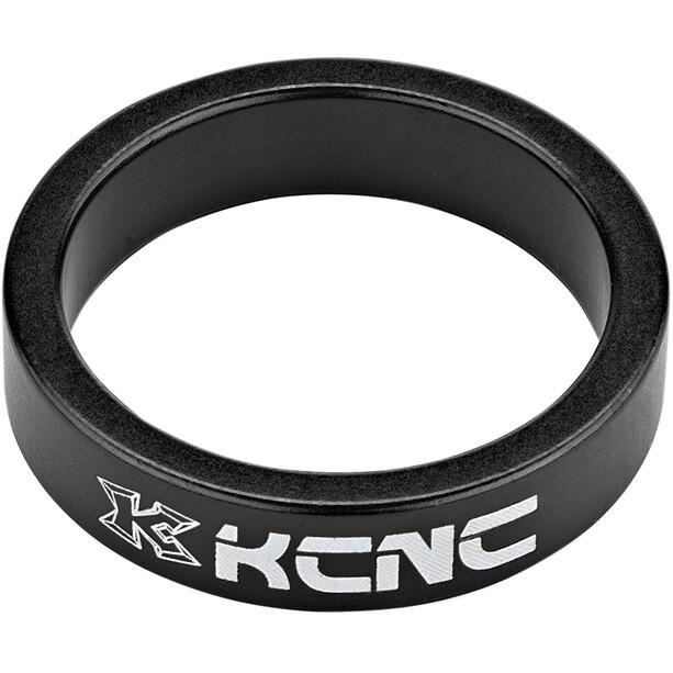 """KCNC Headset Spacer 1 1/8"""" 8mm schwarz"""