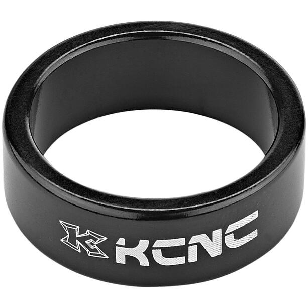 """KCNC Headset Spacer 1 1/8"""" 12mm schwarz"""