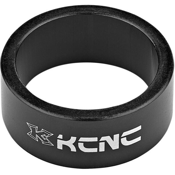 """KCNC Headset Spacer 1 1/8"""" 14mm schwarz"""