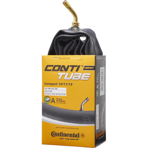 """Continental Compact 10/11/12"""" Schlauch 45°"""