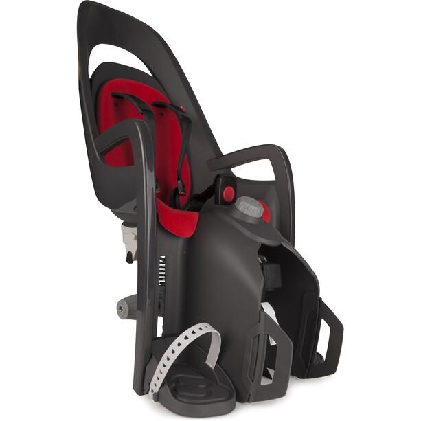 Hamax Caress Kindersitz Gepäckträger grau/rot