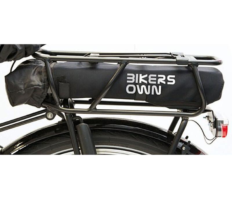 BIKERSOWN Case4Rain Batteriskydd Kedjestagsskydd för Bosch Powerpack 300/400 svart  2019 Skydd för ramar och delar till elcykel