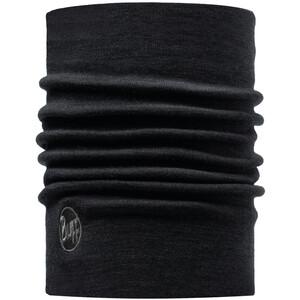 Buff Heavyweight Merino Wool Schlauchschal solid black solid black