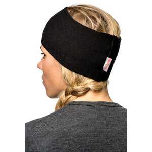Woolpower 200 Stirnband Herren black black
