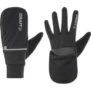 Craft Hybrid Weather Handschuhe black black