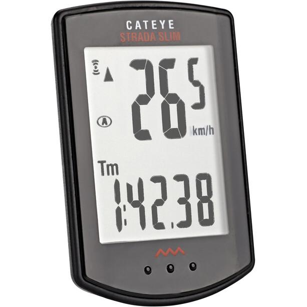 CatEye Strada CC-RD310W Slim Fahrradcomputer schwarz