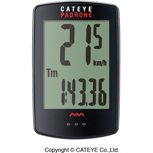 CatEye Padrone CC-PA100W Cykeldator svart svart