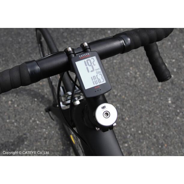 CatEye Padrone CC-PA100W Compteur de vélo, noir