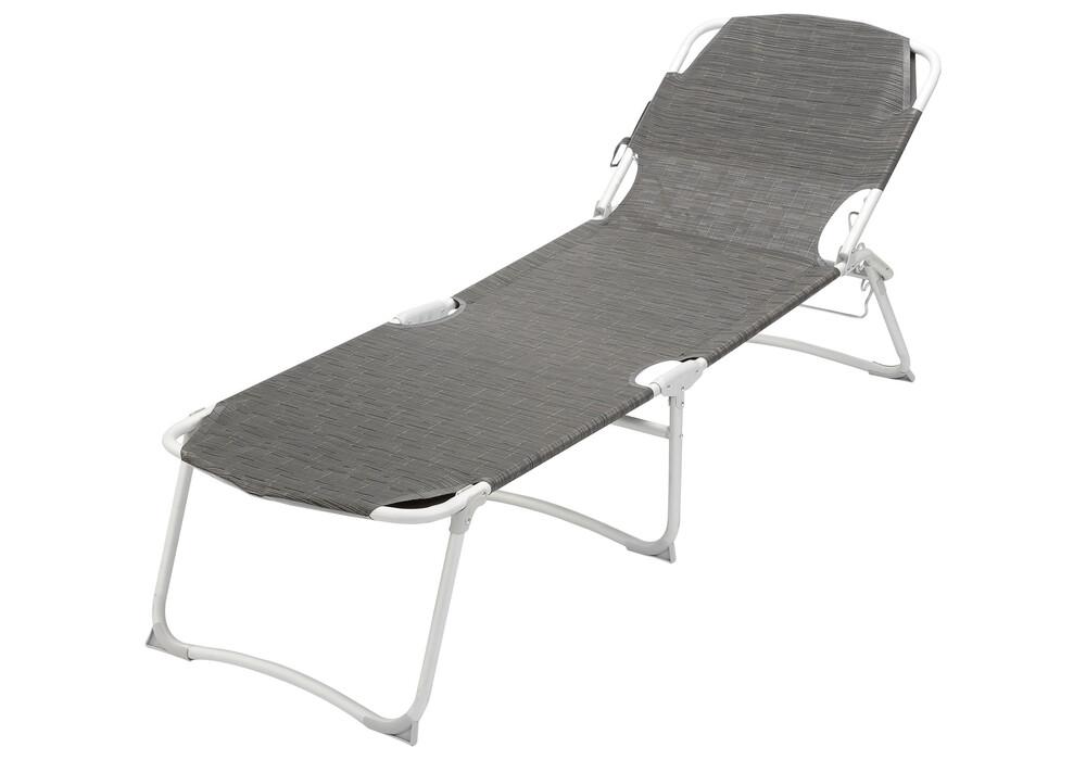 brunner kerry duna grand chaise longue countour carbon gris sur. Black Bedroom Furniture Sets. Home Design Ideas