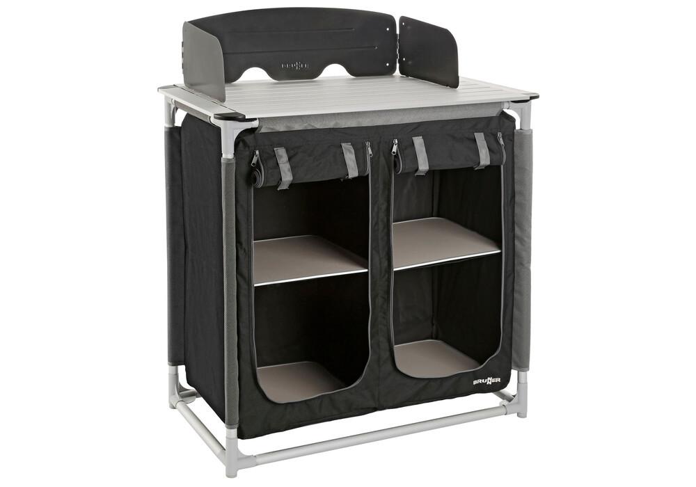 brunner jum box ct azabache armoire de camping noir. Black Bedroom Furniture Sets. Home Design Ideas