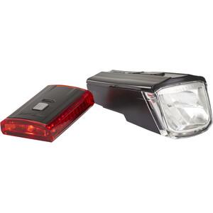 XLC Comp CL-S16 Kit d'éclairages Titania, noir noir