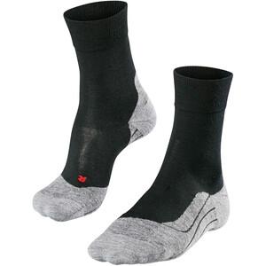 Falke RU4 Wool Chaussettes Homme, noir/gris noir/gris