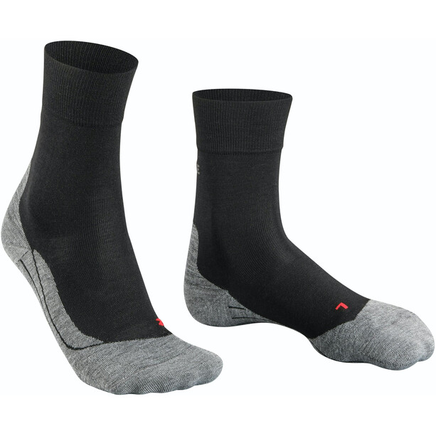 Falke RU4 Wool Socken Damen black mix