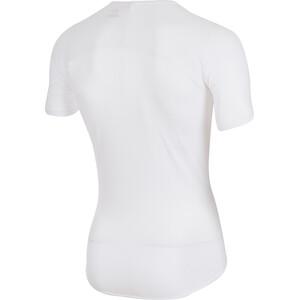 Castelli Pro Issue Kurzarm Baselayer Trikot Herren white white